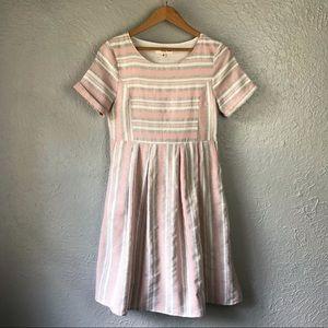 OrangeCreek Los Angeles Stripped Dress S